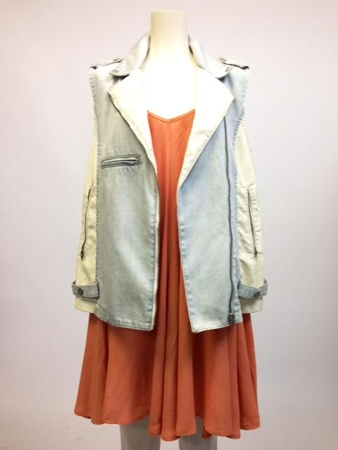 onepiece + jacket