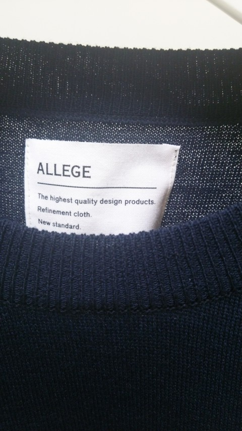 ALLEGE 2014AW -KNIT
