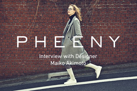 INTERVIEW: PHEENY 秋元舞子